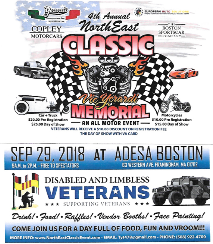 2018 North East Classic Flyer